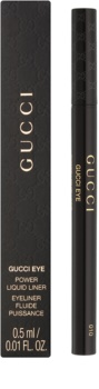 Gucci Eye Power Liquid Liner dlouhotrvající oční linky ve fixu