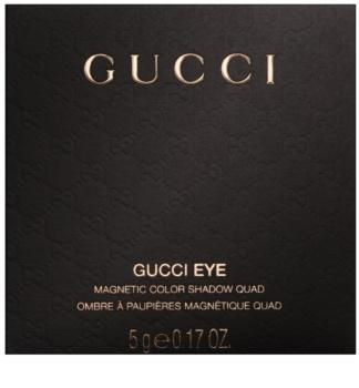 Gucci Eye Magnetic Color Shadow Quad paleta senčil za oči