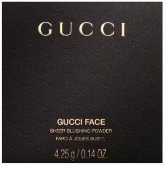 Gucci Face blush em pó