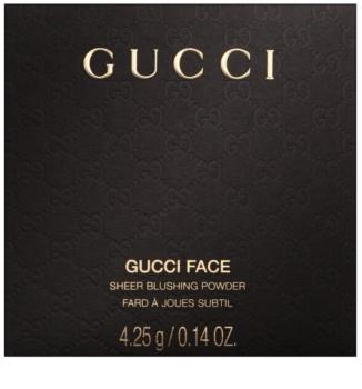 Gucci Face Sheer Blushing Powder pudrasto rdečilo