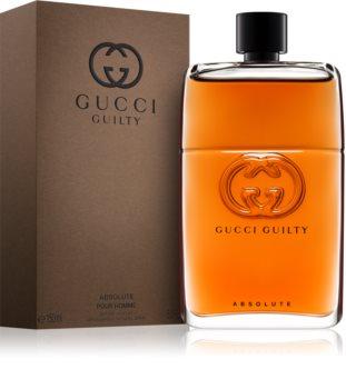 gucci guilty absolute herrenparfum. Black Bedroom Furniture Sets. Home Design Ideas