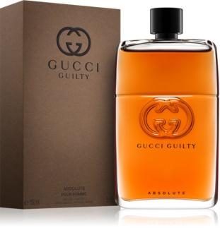 f9e9146446c9 Gucci Guilty Absolute, eau de parfum pour homme 150 ml   notino.fr