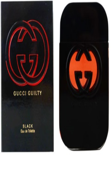 Gucci Guilty Black eau de toilette nőknek 75 ml