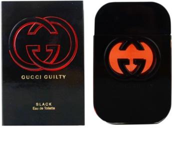 Gucci Guilty Black woda toaletowa dla kobiet 75 ml