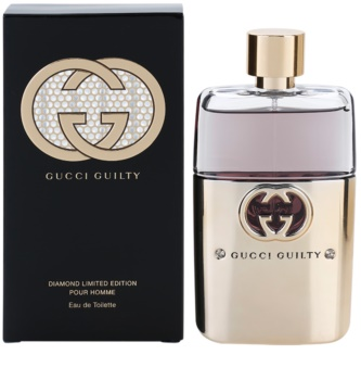 Gucci Guilty Diamond Pour Homme Eau de Toilette for Men 90 ml