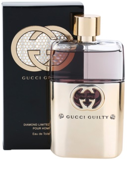 Gucci Guilty Diamond Pour Homme Eau de Toilette for Men 90 ml