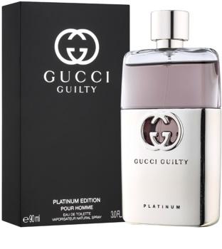Gucci Guilty Platinum Pour Homme woda toaletowa dla mężczyzn 90 ml