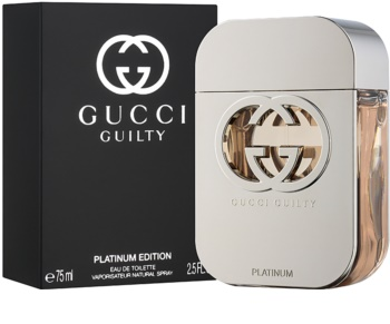 Gucci Guilty Platinum toaletna voda za ženske 75 ml