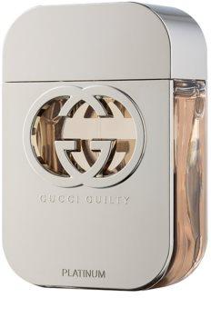 Gucci Guilty Platinum Eau de Toilette voor Vrouwen  75 ml
