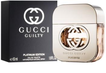 Gucci Guilty Platinum toaletní voda pro ženy 50 ml