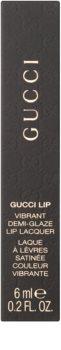 Gucci Lip Vibrant Demi-Glaze Lip Lacquer блиск для губ