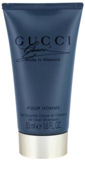 Gucci Made to Measure sprchový gel pro muže 50 ml bez krabičky