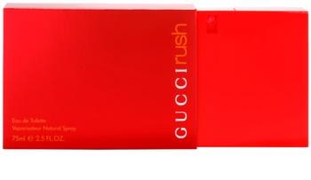 Gucci Rush Eau de Toilette voor Vrouwen  75 ml