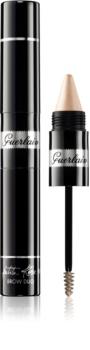 Guerlain La Petite Robe Noire Brow Duo gélová riasenka na obočie s rozjasňovačom v ceruzke