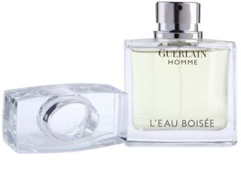 Guerlain Homme L'Eau Boisée eau de toilette per uomo 80 ml