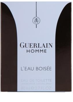 Guerlain Homme L'Eau Boisée toaletná voda pre mužov 80 ml