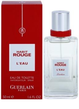 Guerlain Habit Rouge L'Eau toaletna voda za moške