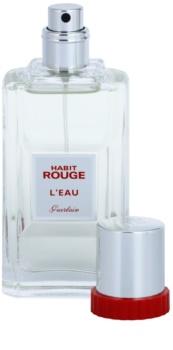 Guerlain Habit Rouge L'Eau eau de toilette férfiaknak 50 ml