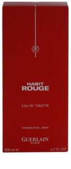 Guerlain Habit Rouge Eau de Toilette for Men 200 ml