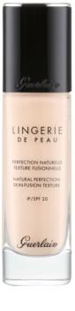 Guerlain Lingerie de Peau tekoči puder za naraven videz SPF 20