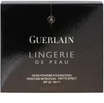 Guerlain Lingerie de Peau pudra make up mata rezervă