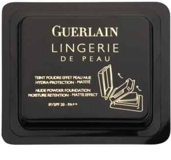 Guerlain Lingerie de Peau матуюча компактна пудра для безконтактного дозатора