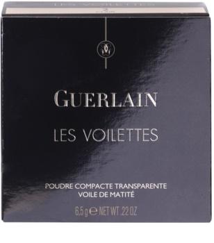 Guerlain Les Voilettes Mattifying Tranparent Powder