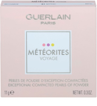 Guerlain Météorites Voyage rozjasňující kompaktní pleťové perly náhradní náplň