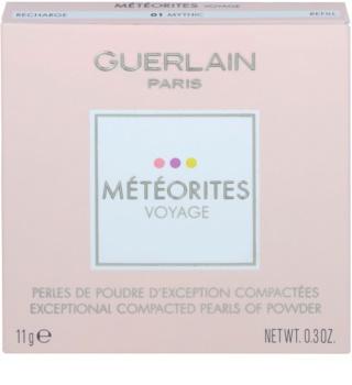 Guerlain Météorites Voyage rozjasňujúce kompaktné pleťové perly náhradná náplň