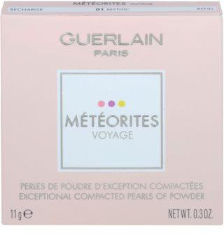 Guerlain Météorites Voyage освітлюючі компактні перлини для шкіри обличчя для безконтактного дозатора