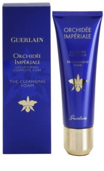 Guerlain Orchidée Impériale čisticí pleťová pěna s výtažkem z orchideje
