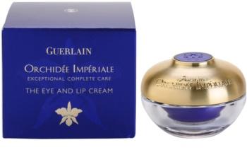 Guerlain Orchidée Impériale krém na pery a okolie očí s výťažkom z orchidey
