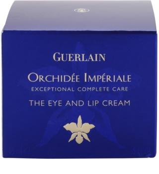 Guerlain Orchidée Impériale krém na rty a oční okolí s výtažkem z orchideje