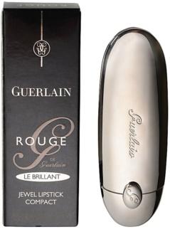 Guerlain Rouge G le Brillant зволожуюча помада з блиском