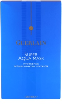 Guerlain Super Aqua intensive hydratisierende Maske   für das Gesicht