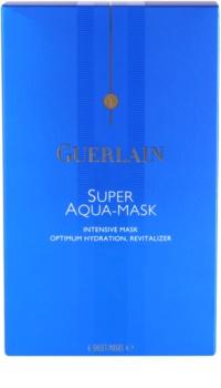Guerlain Super Aqua intenzív hidratáló maszk az arcra