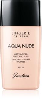 Guerlain Lingerie de Peau Aqua Nude maquillaje hidratante ligera SPF 20