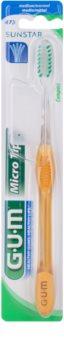 G.U.M Micro Tip Compact zubní kartáček medium