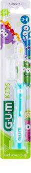 G.U.M Kids Zahnbürste mit Saugnapf für Kinder