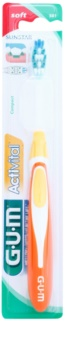 G.U.M Activital Compact escova de dentes soft