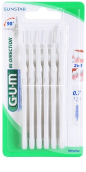 G.U.M Bi Direction четки за междузъбно пространство 6 бр.