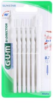G.U.M Bi Direction mezizubní kartáčky 6 ks