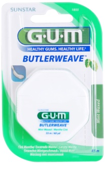 G.U.M Butlerweave fio dental com sabor de menta