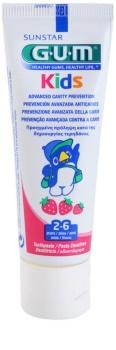 G.U.M Kids zubní gel pro děti s jahodovou příchutí
