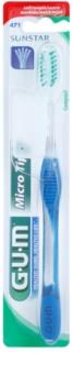 G.U.M Micro Tip Compact perie de dinti fin