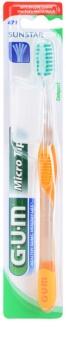 G.U.M Micro Tip Compact zubní kartáček soft
