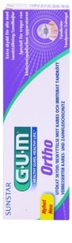 G.U.M Ortho dentifrice pour les utilisateurs d'appareils dentaires fixes