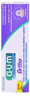 G.U.M Ortho zubná pasta pre používateľov fixného strojčeka