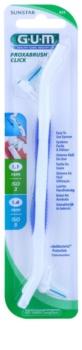 G.U.M Proxabrush Click držák + náhradní mezizubní kartáčky 2 ks