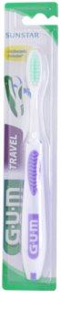 G.U.M Travel cestovná zubná kefka soft